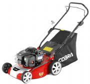 "Cobra 16"" Petrol Lawn Mower Powered by Briggs & Stratton M40B"
